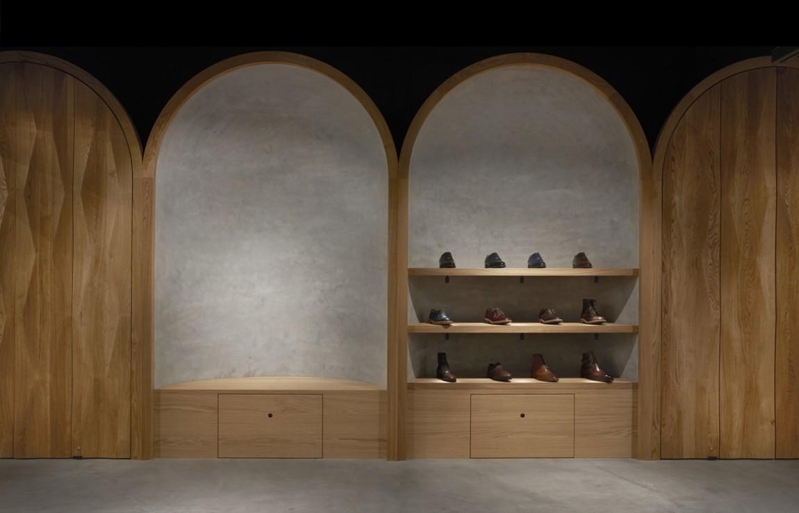 Faust高端制鞋品牌vi设计,商业空间设计