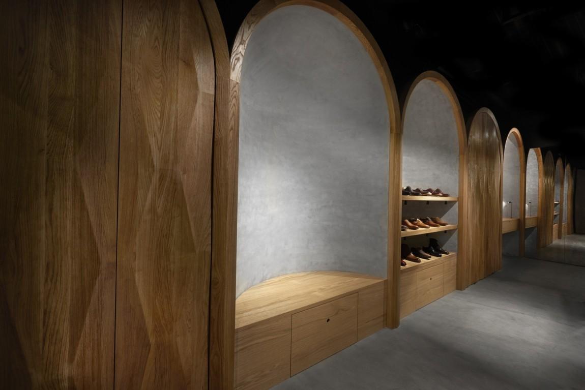 Faust高端制鞋品牌vi设计, 店面空间设计