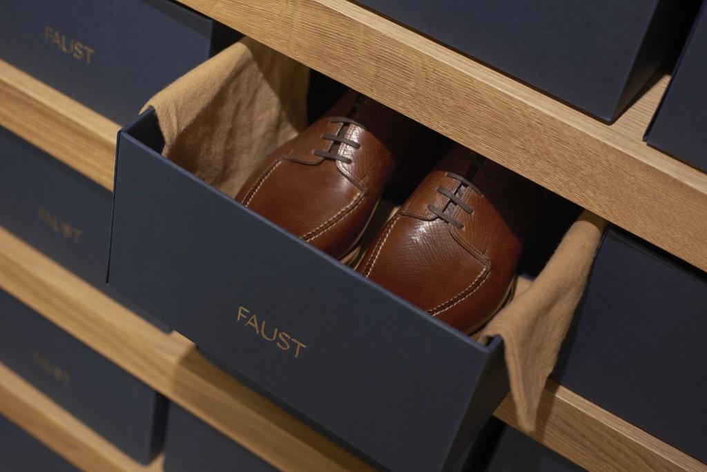 Faust高端制鞋品牌vi设计, 产品包装设计