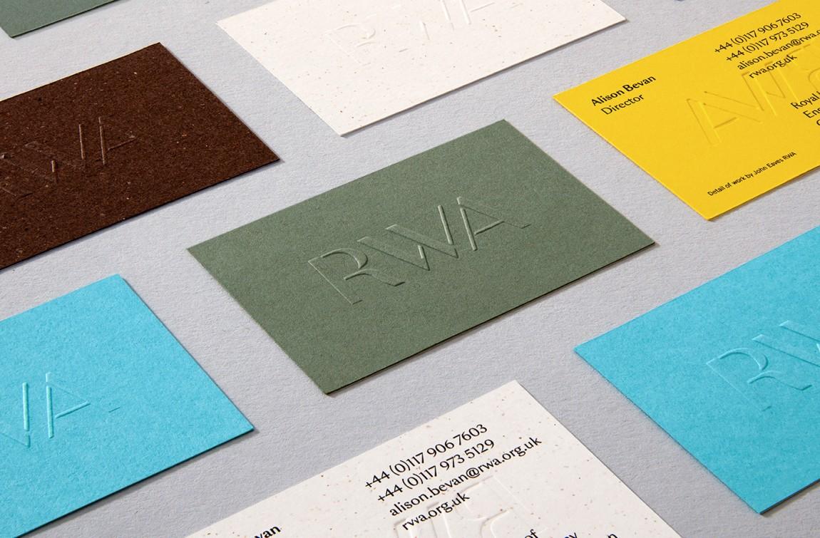 RWA艺术画廊Logo创意设计,vi形象设计