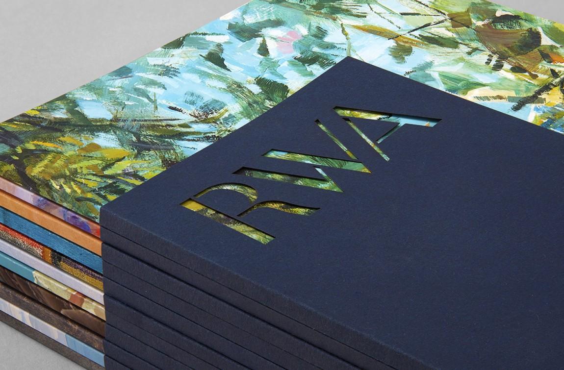 RWA艺术画廊Logo创意设计,vi形象设计, VI设计