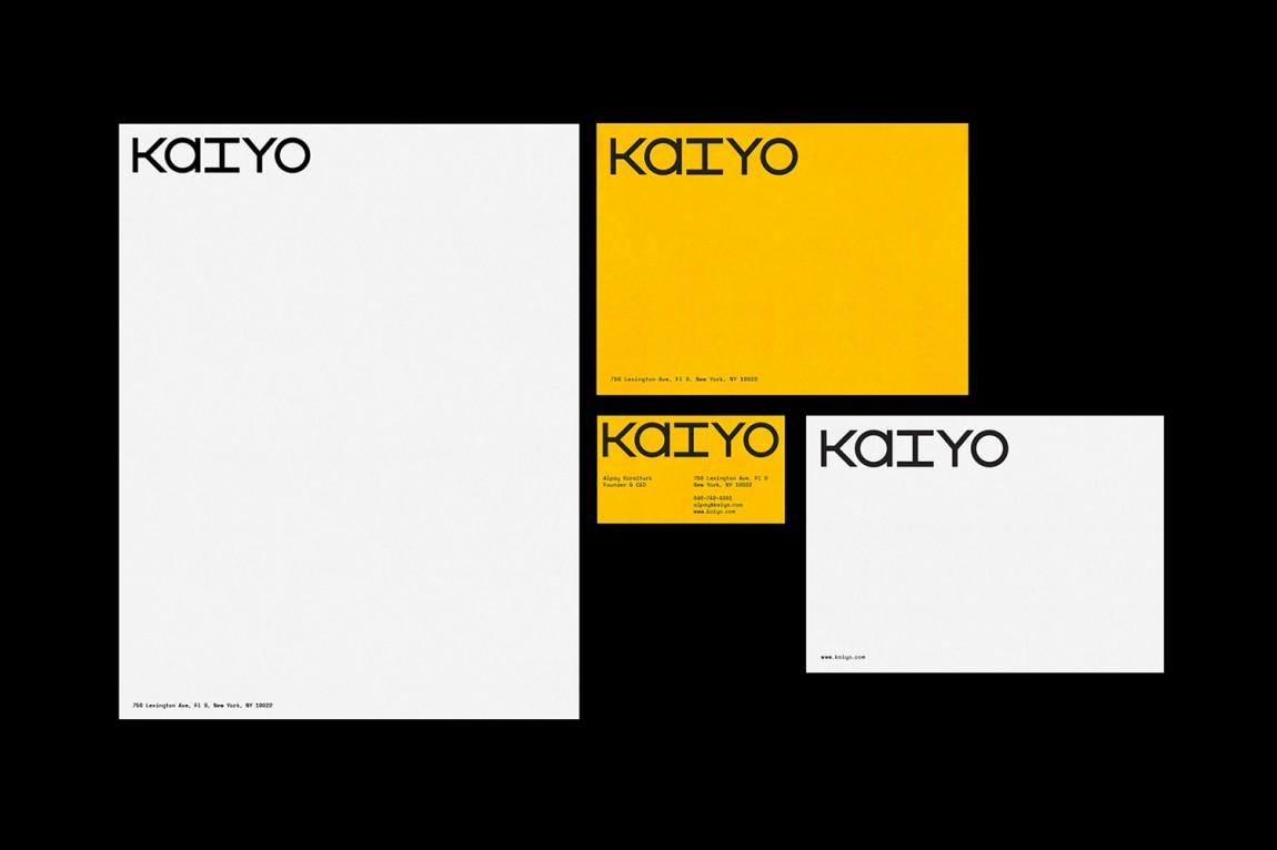 二手家具在线销售平台Kaiyo电商vi形象设计