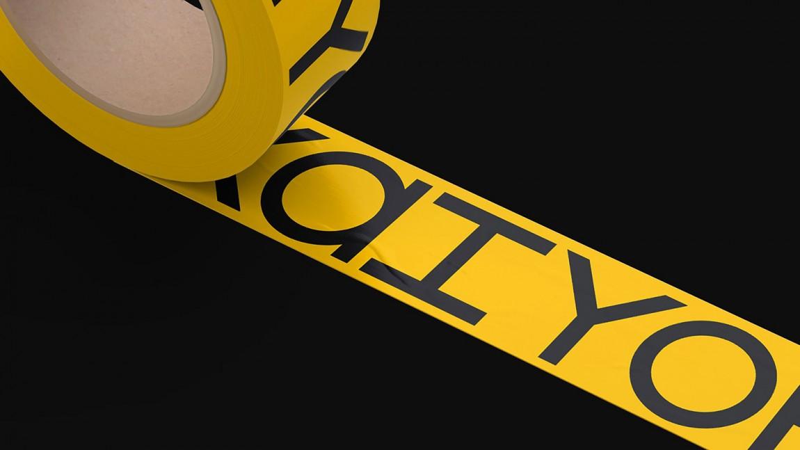 二手家具在线销售平台Kaiyo电商vi形象设计,封箱胶带设计