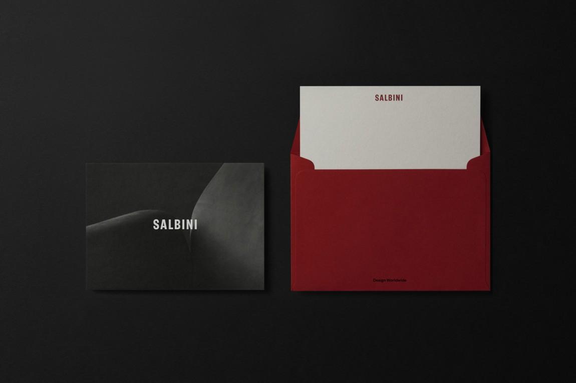 欧洲高档家具和电器在线零售商Salbini品牌设计, 信封设计