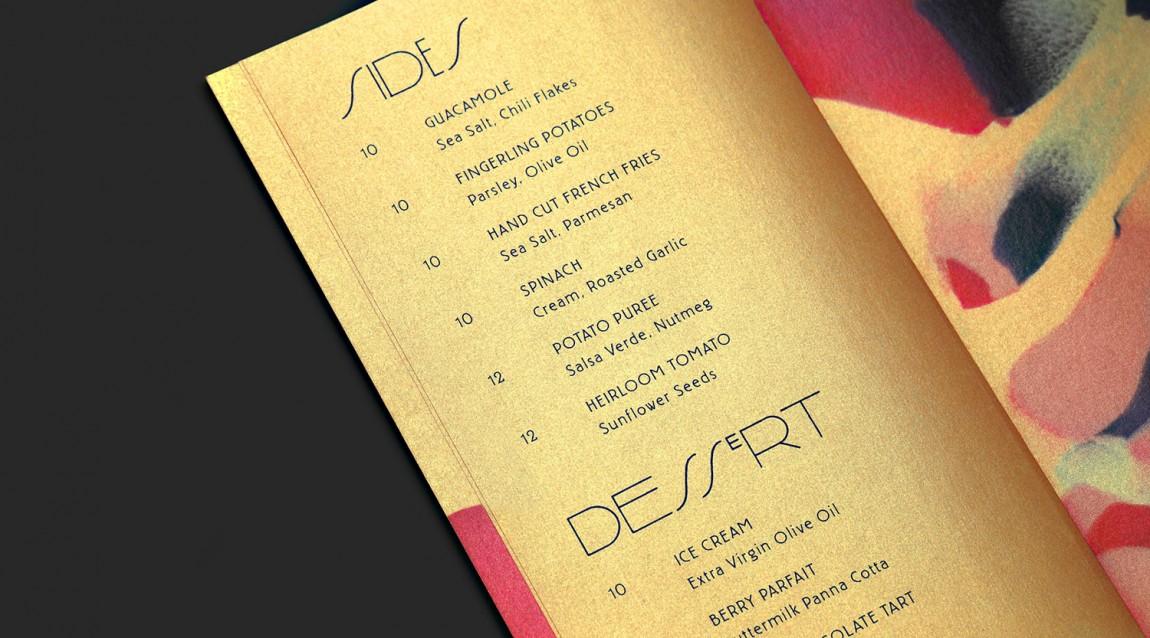 高线酒店黄金时间户外餐厅VI设计,海报设计