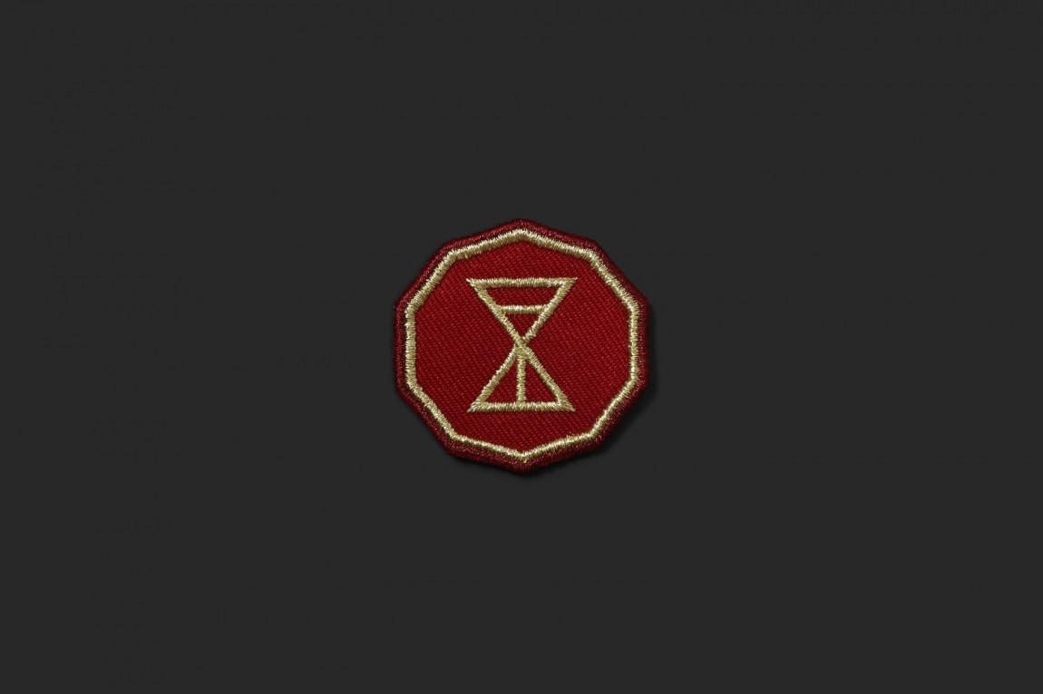 高线酒店黄金时间户外餐厅VI设计,logo设计