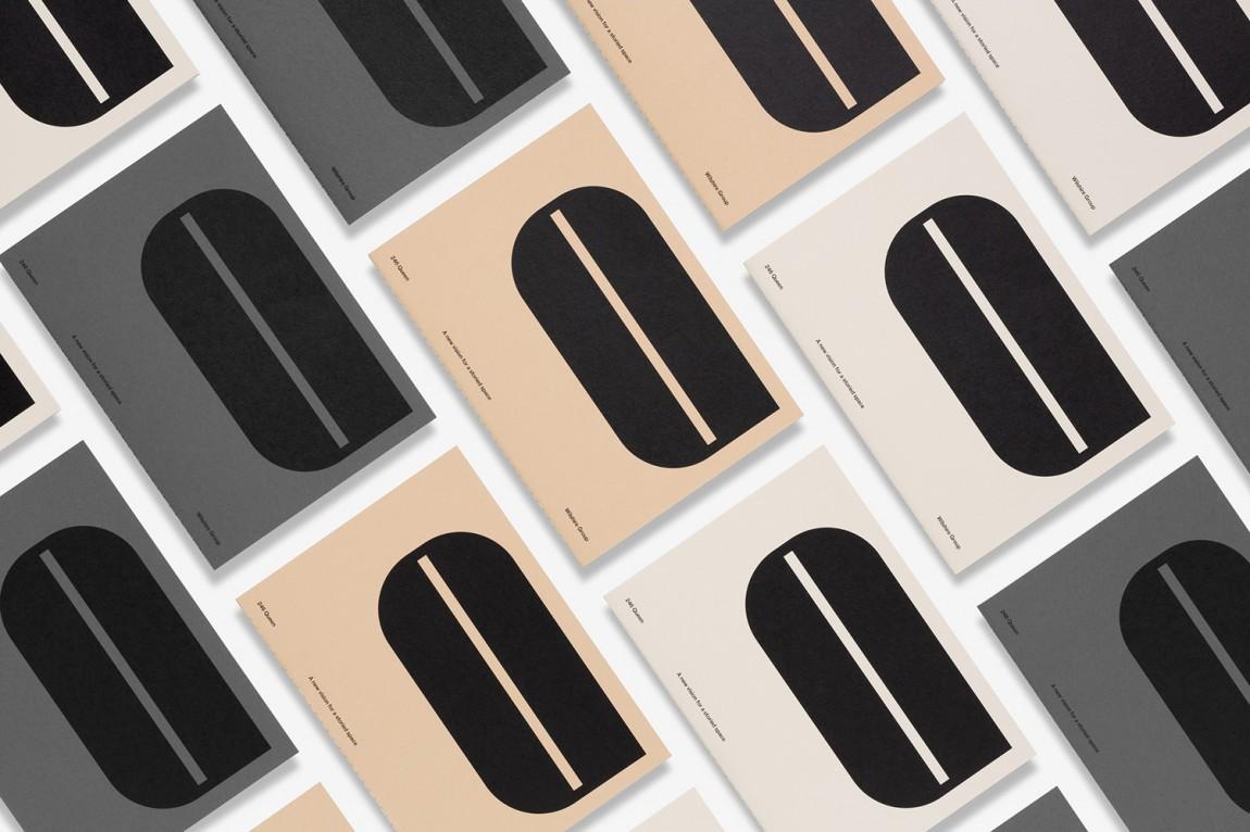 现代主义商业综合体皇后大道整体形象设计品牌重塑,vi设计
