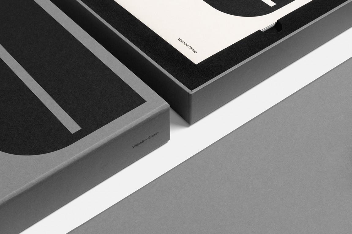 现代主义商业综合体皇后大道整体形象设计品牌重塑, 包装设计
