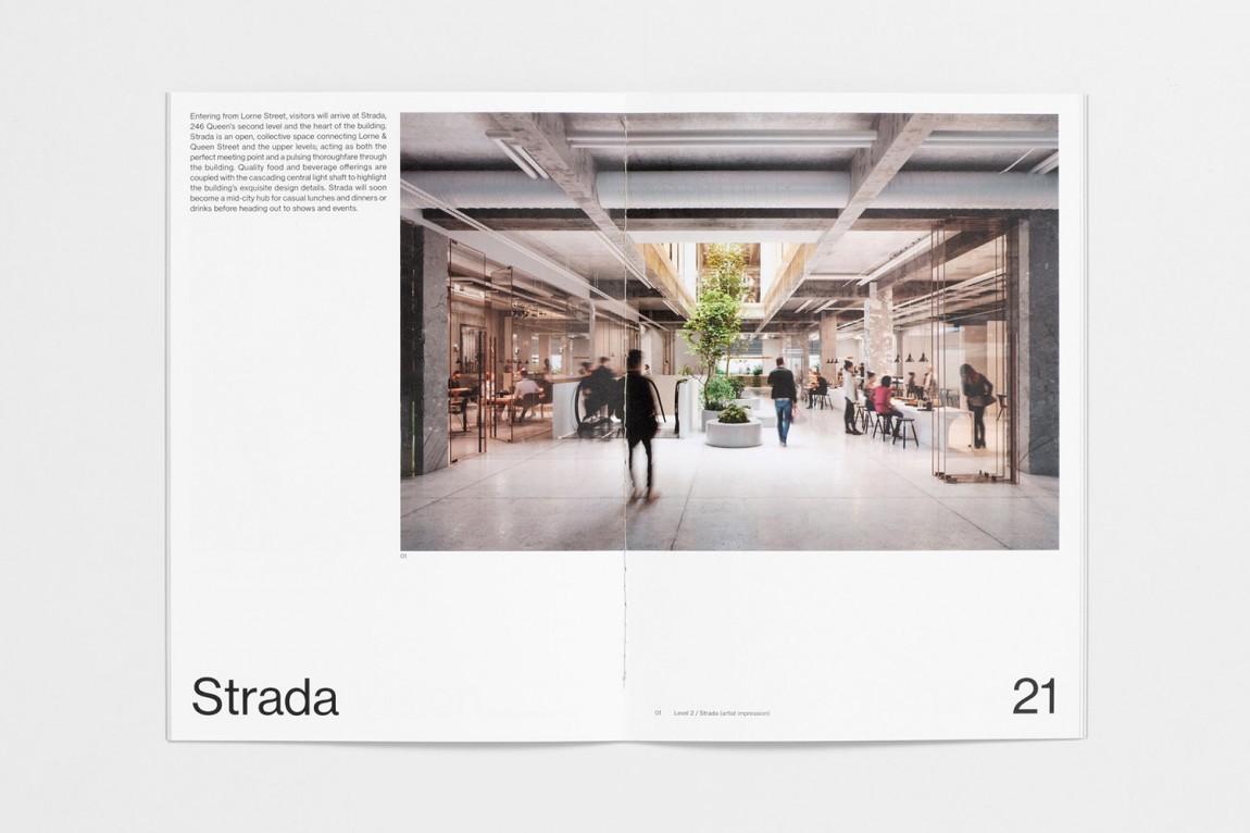 现代主义商业综合体皇后大道整体形象设计品牌重塑,企业画册设计