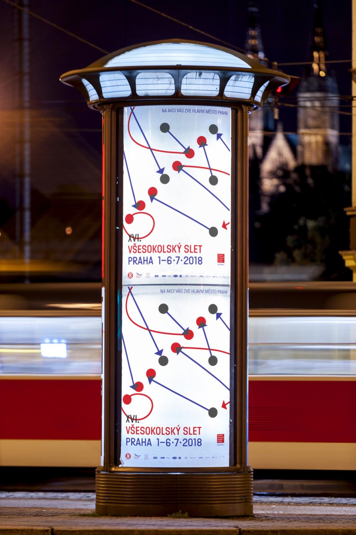 布拉格体育项目Slet品牌视觉形象设计案例,广告设计