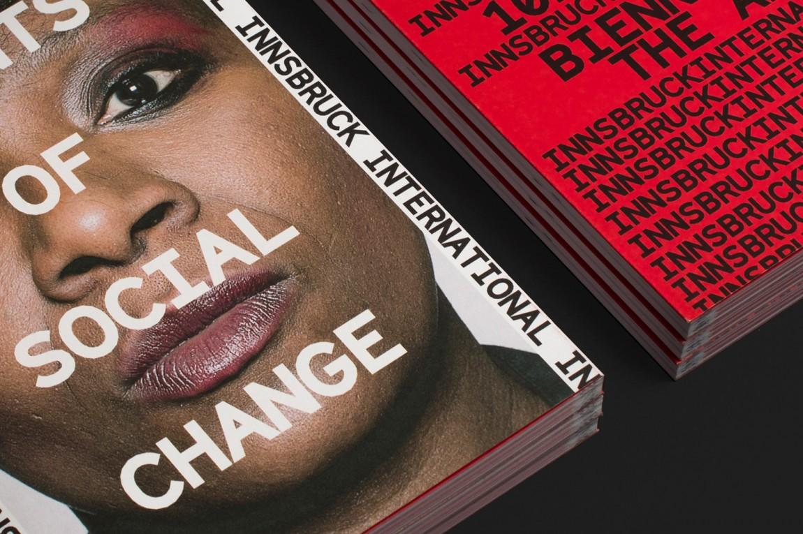 因斯布鲁克(Innsbruck)国际艺术双年展VI视觉形象设计