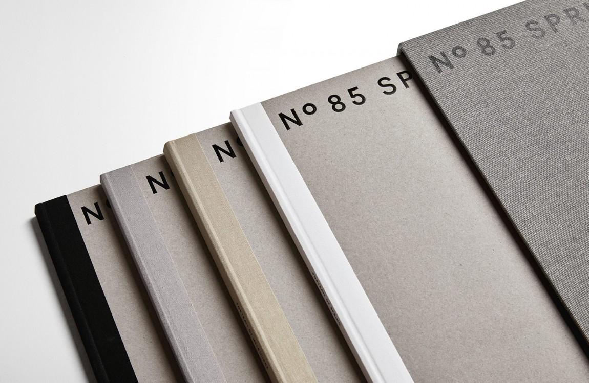 房地产住宅物业85度Spring ST品牌设计方案策划, VI设计