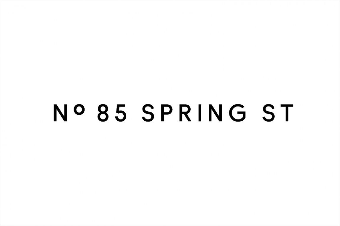 房地产住宅物业85度Spring ST品牌设计方案策划,logo设计