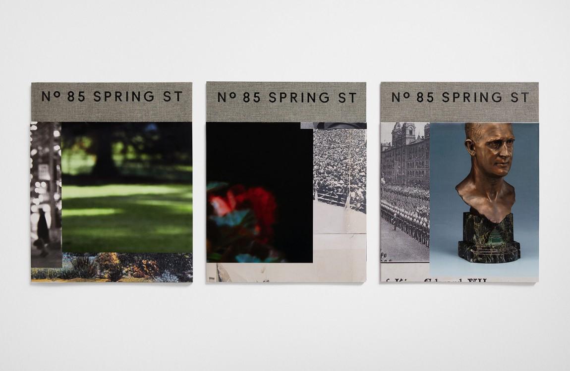 房地产住宅物业85度Spring ST品牌设计方案策划,海报设计