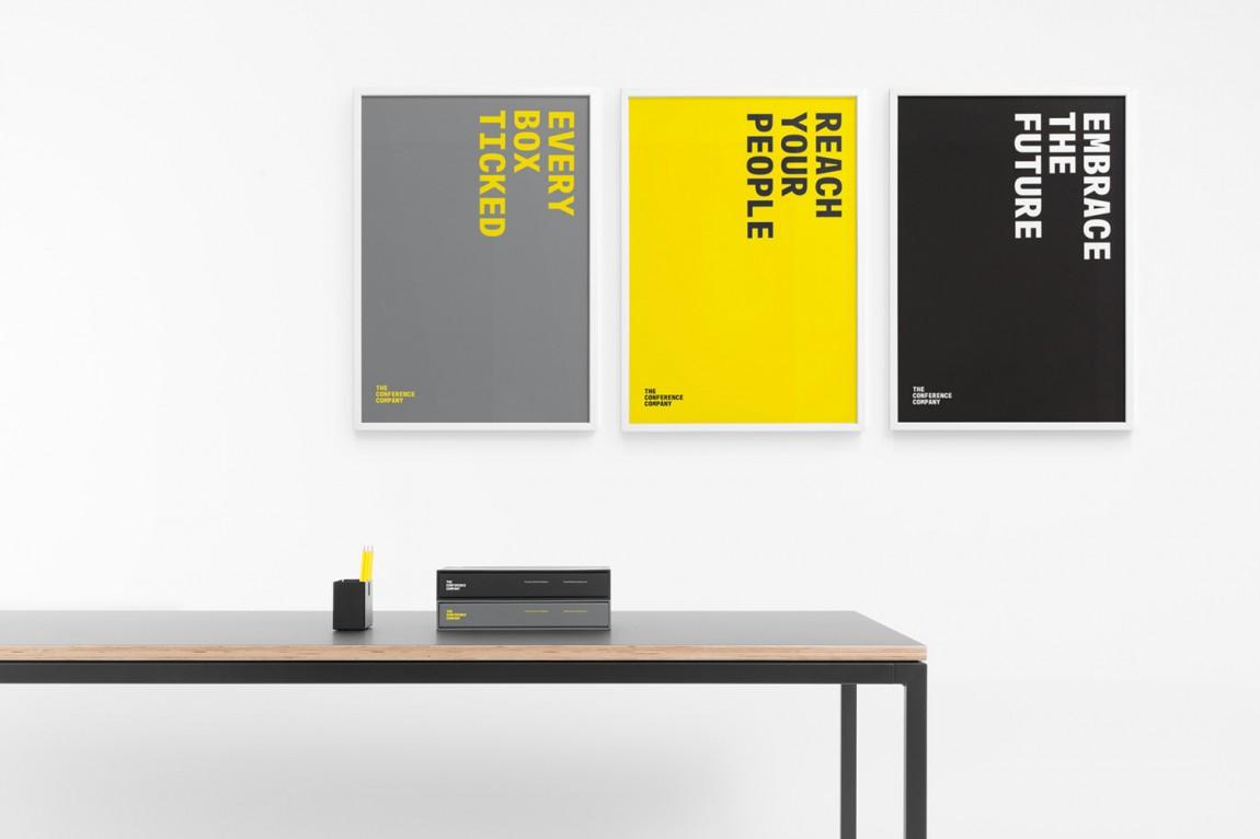 会议公司(TCC)企业形象策划与公司品牌提升案例解析,海报设计