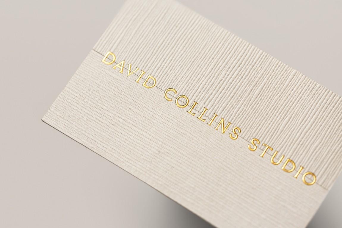 室内建筑设计事务所(David Collins)品牌策划设计,logo字体设计