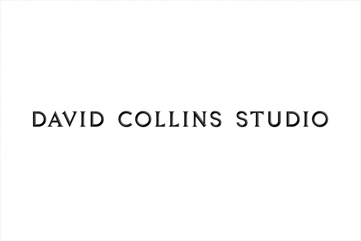 室内建筑设计事务所(David Collins)品牌策划设计,字体logo设计