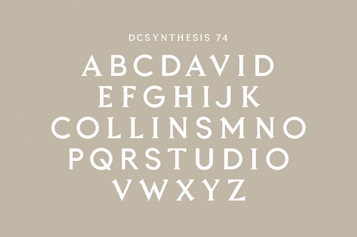 室内建筑设计事务所(David Collins)品牌策划设计,品牌字体设计