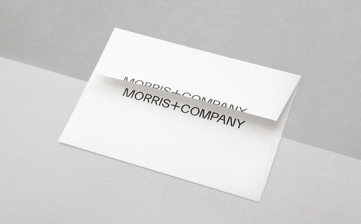 Morris + Company设计公司高端vi设计系统,信封设计