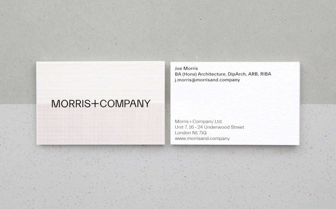 Morris + Company设计公司高端vi设计系统,名片设计