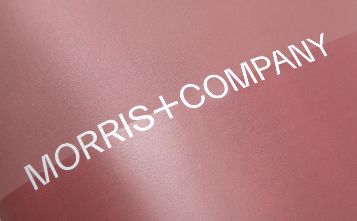 Morris + Company设计公司高端vi设计系统, logo设计