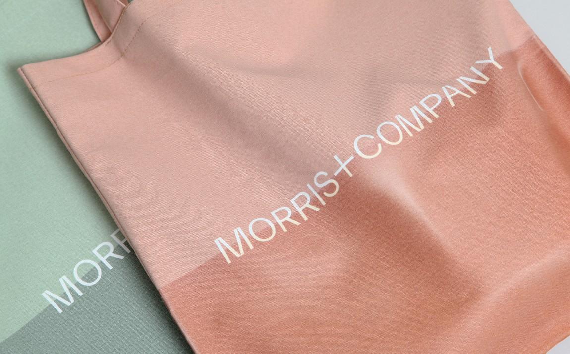 Morris + Company设计公司高端vi设计系统, 手提袋设计
