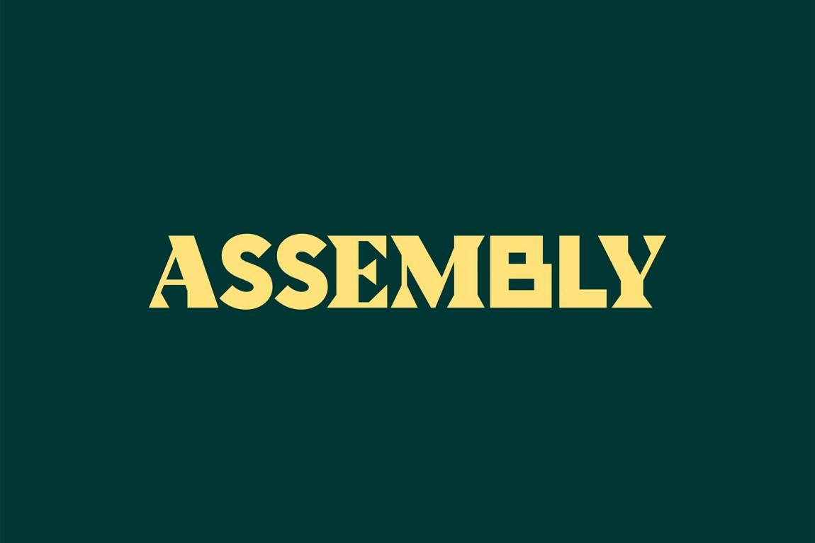 Assembly城市酒店VI品牌形象设计, 酒店商标设计
