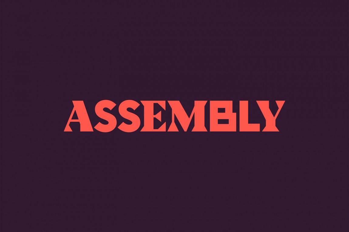 Assembly城市酒店VI品牌形象设计,品牌logo设计