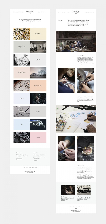 高端奢侈珠宝品牌(MDG1848)vi企业形象设计,网站设计
