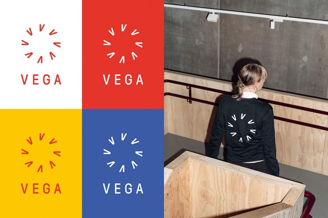 Vega商业艺术空间综合体品牌形象设计,图形logo设计