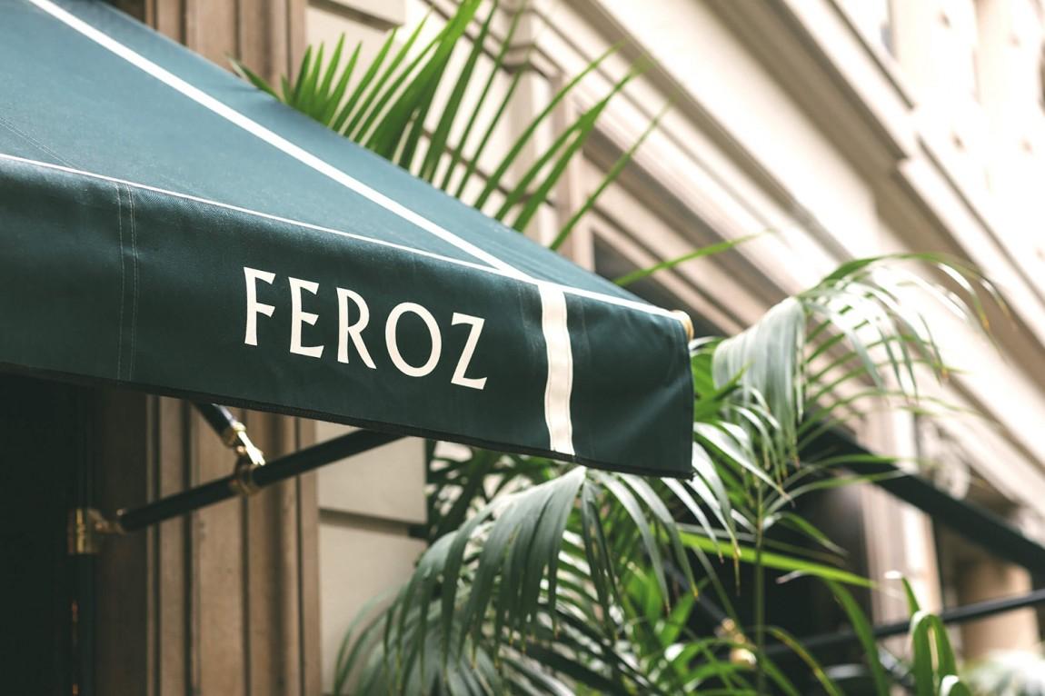 Feroz餐厅与俱乐部品牌形象设计,环境导视设计