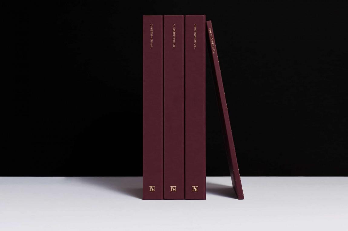 家具和室内设计师Christopher Hall品牌形象定位设计, VI设计