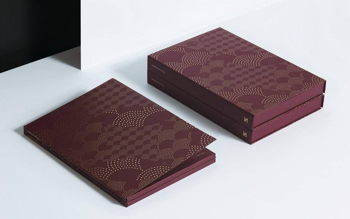 家具和室内设计师Christopher Hall品牌形象定位设计, 画册设计