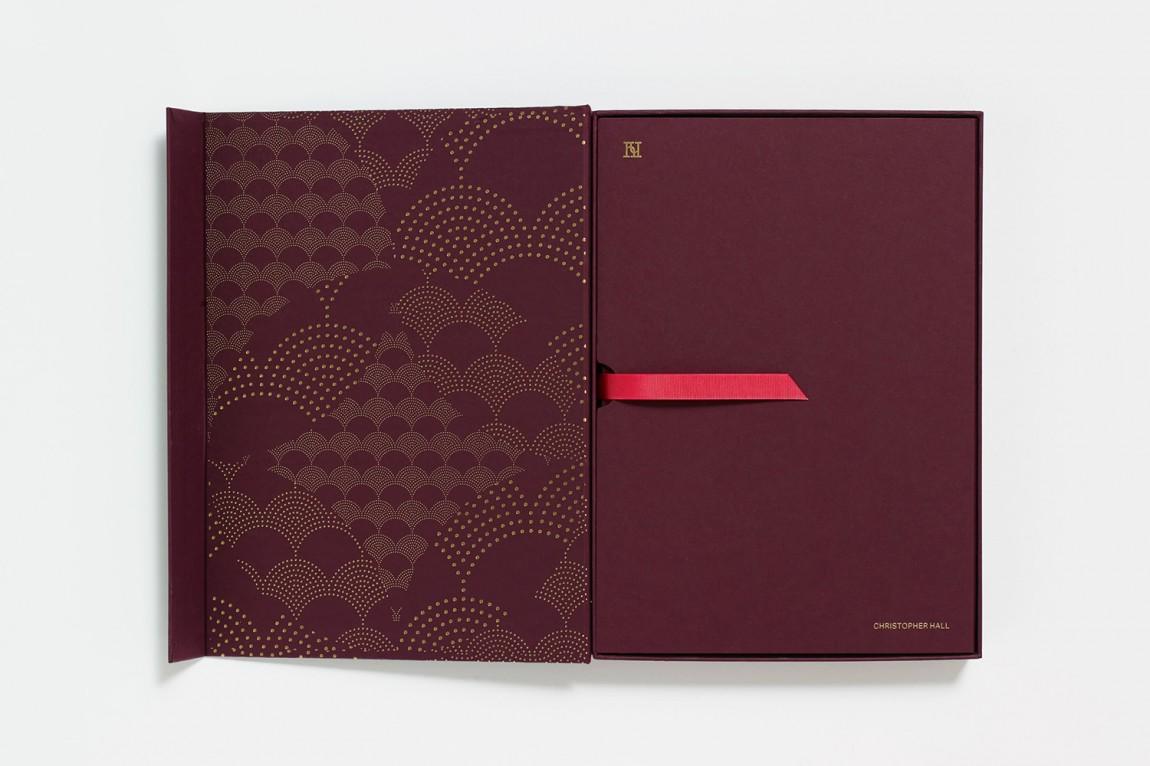 家具和室内设计师Christopher Hall品牌形象定位设计