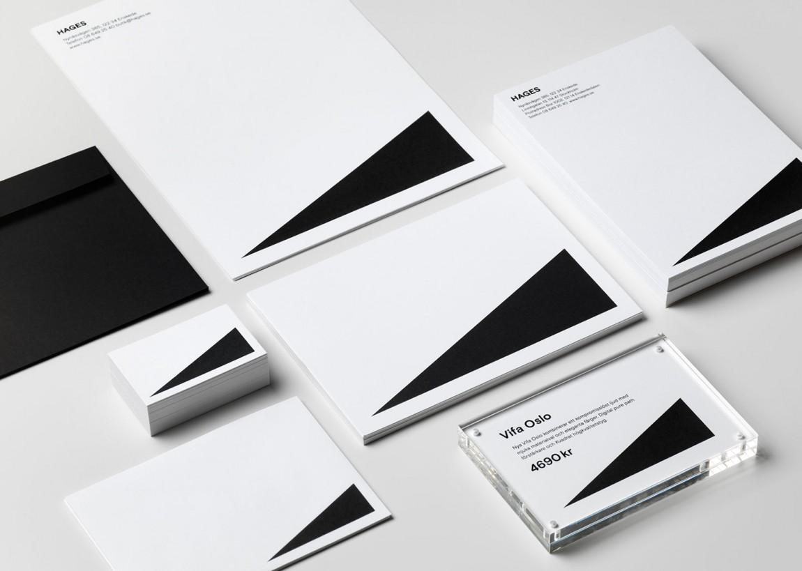 Hages品牌形象设计, VI设计手册