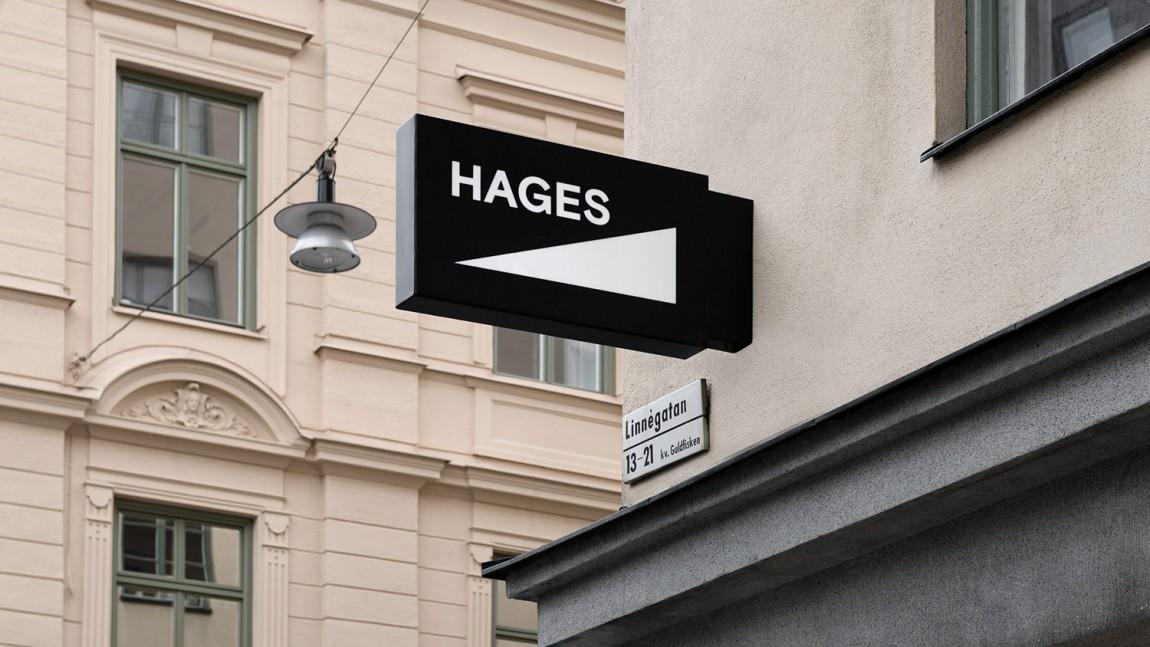 Hages品牌形象设计, 导视设计