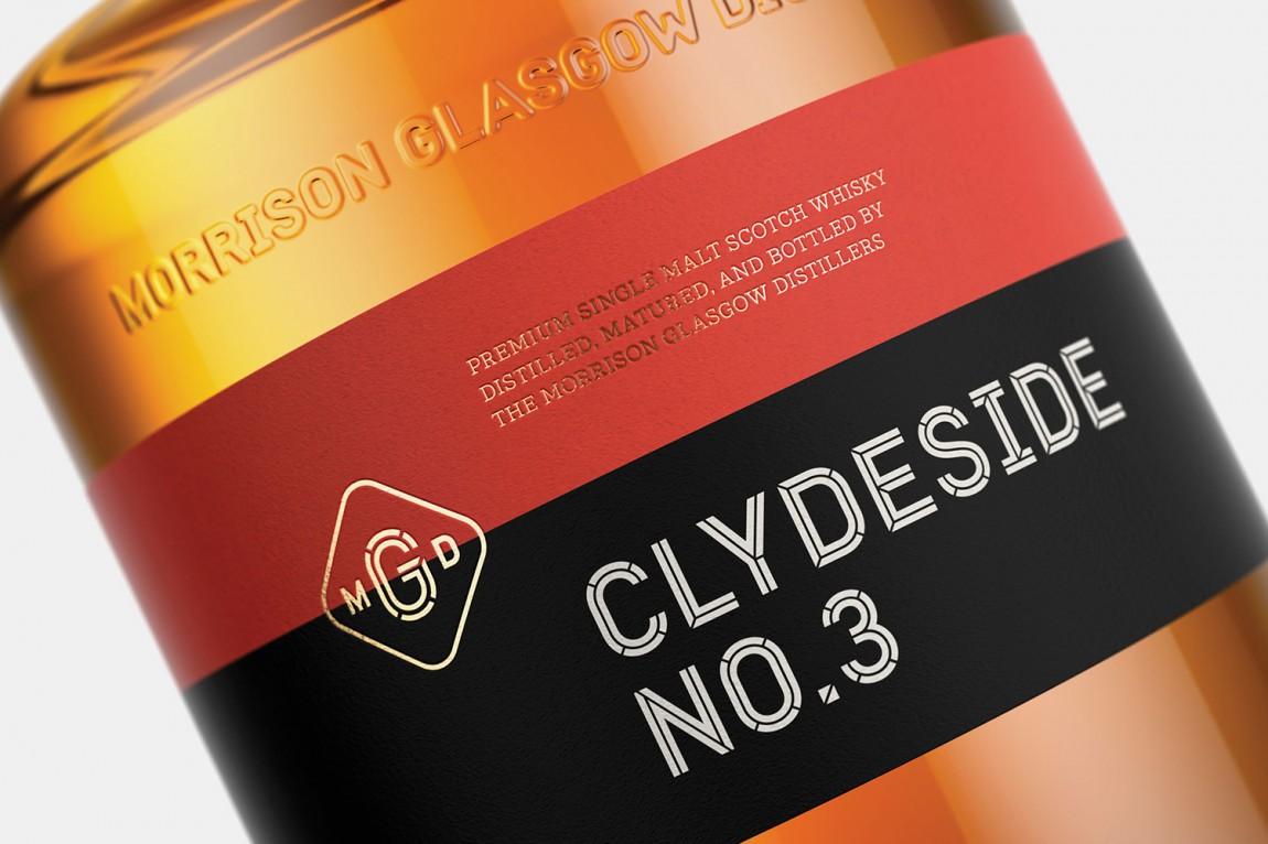 振格拉斯哥酒产品形象设计, 标签设计
