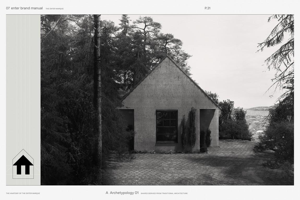 瑞典建筑公司Enter Arkitektur整体形象设计, 理念来源