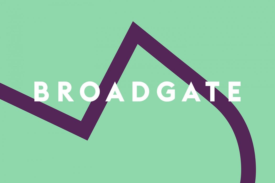 伦敦Broadgate城市形象设计,logo设计