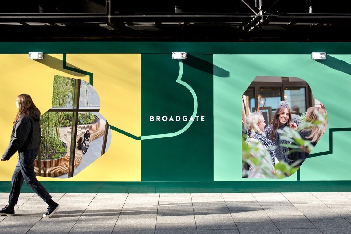 伦敦Broadgate城市形象设计,品牌形象设计