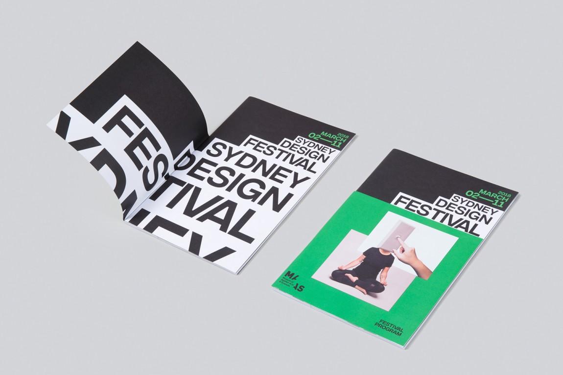 悉尼设计节视觉传达艺术设计,文字logo设计应用典范
