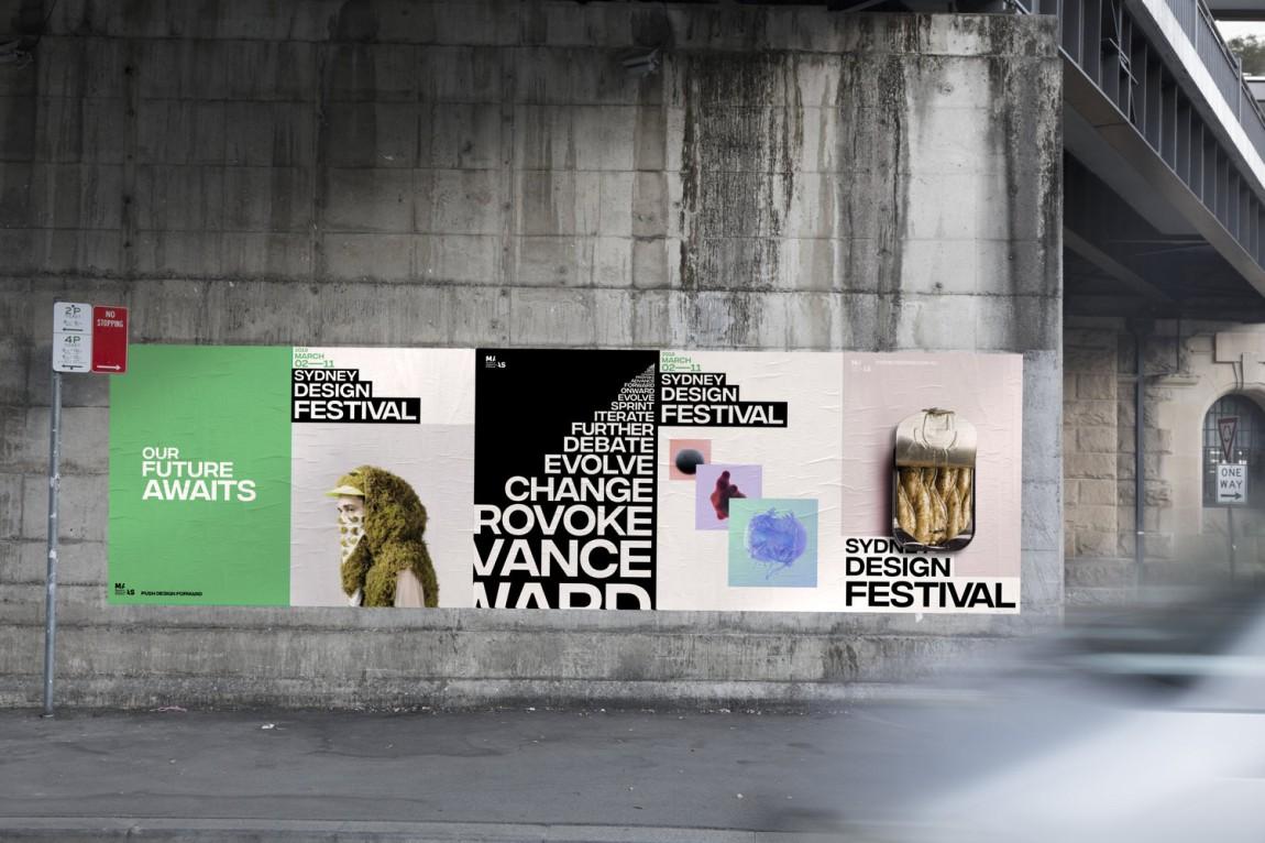 悉尼设计节视觉传达艺术设计,海报设计