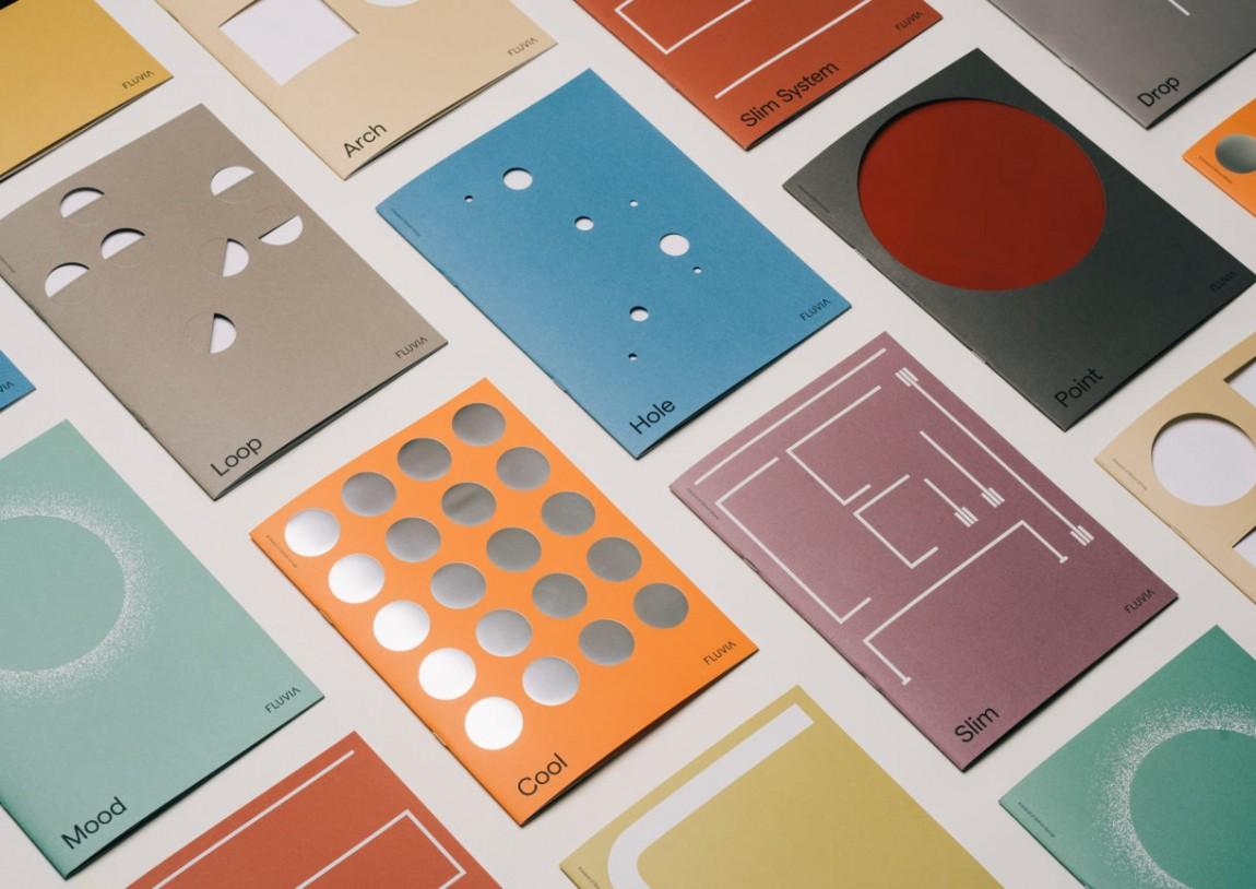 Fluvia照明产品形象设计,产品册设计