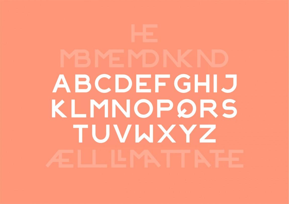 Colours May Vary创意空间视觉传达设计(视觉识别系统设计),字母字体设计