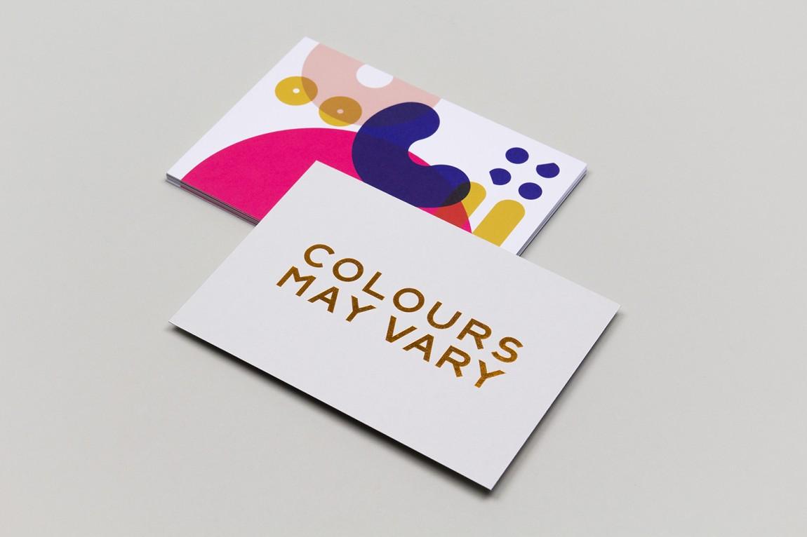 Colours May Vary创意空间视觉传达设计(视觉识别系统设计),宣传册设计