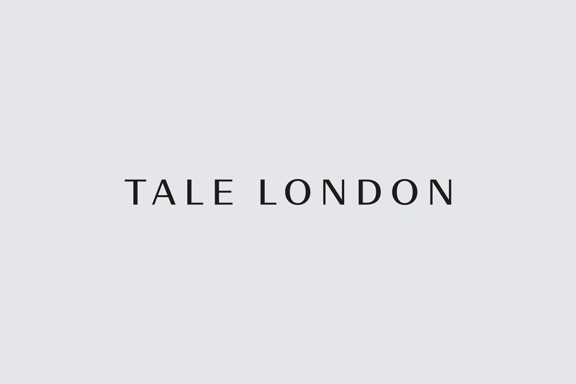 Tale London建筑空间效果图公司VI形象设计, 字体设计