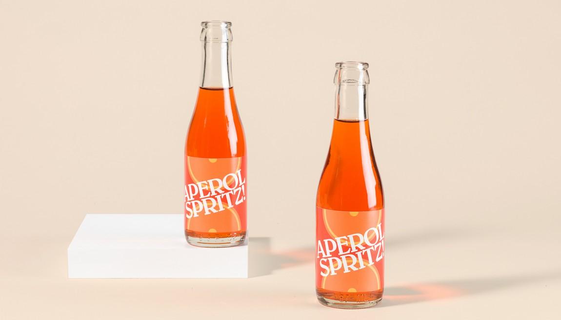 意大利健康饮食餐厅Di Beppe餐饮品牌设计,饮料包装设计