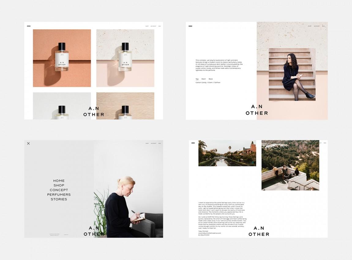 A.N Other品牌策划设计全案,宣传册设计