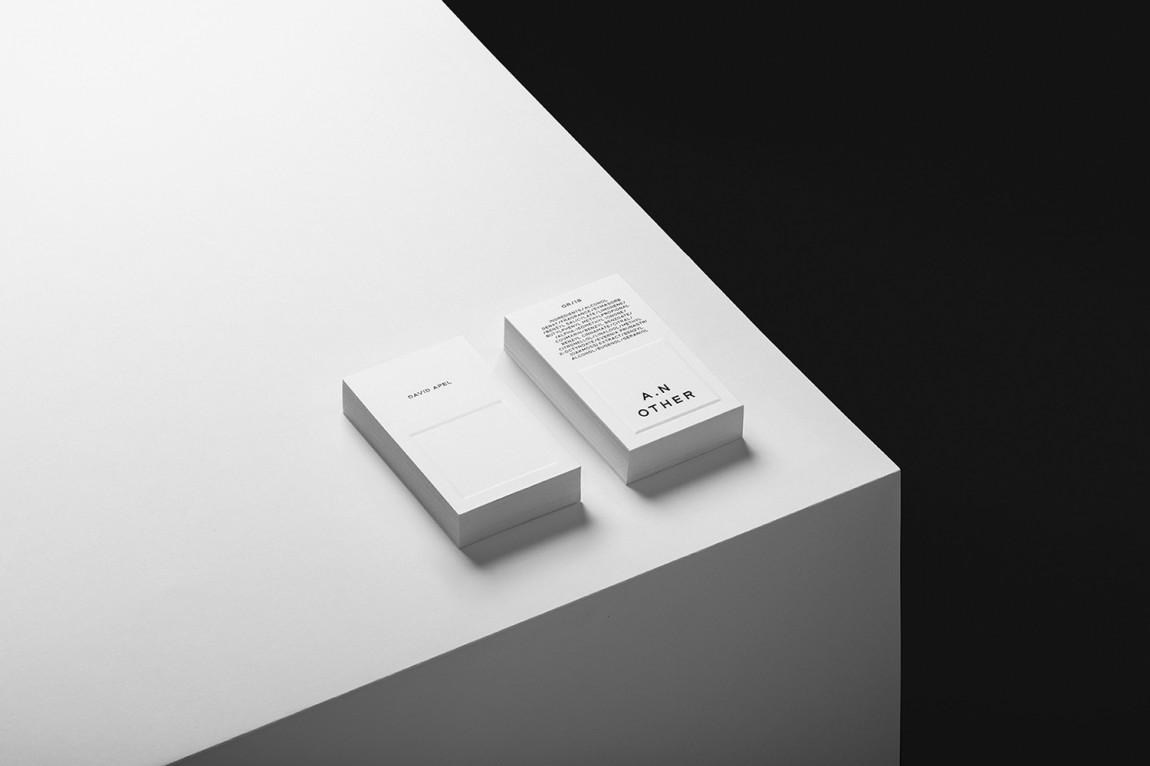 A.N Other品牌策划设计全案,名片设计
