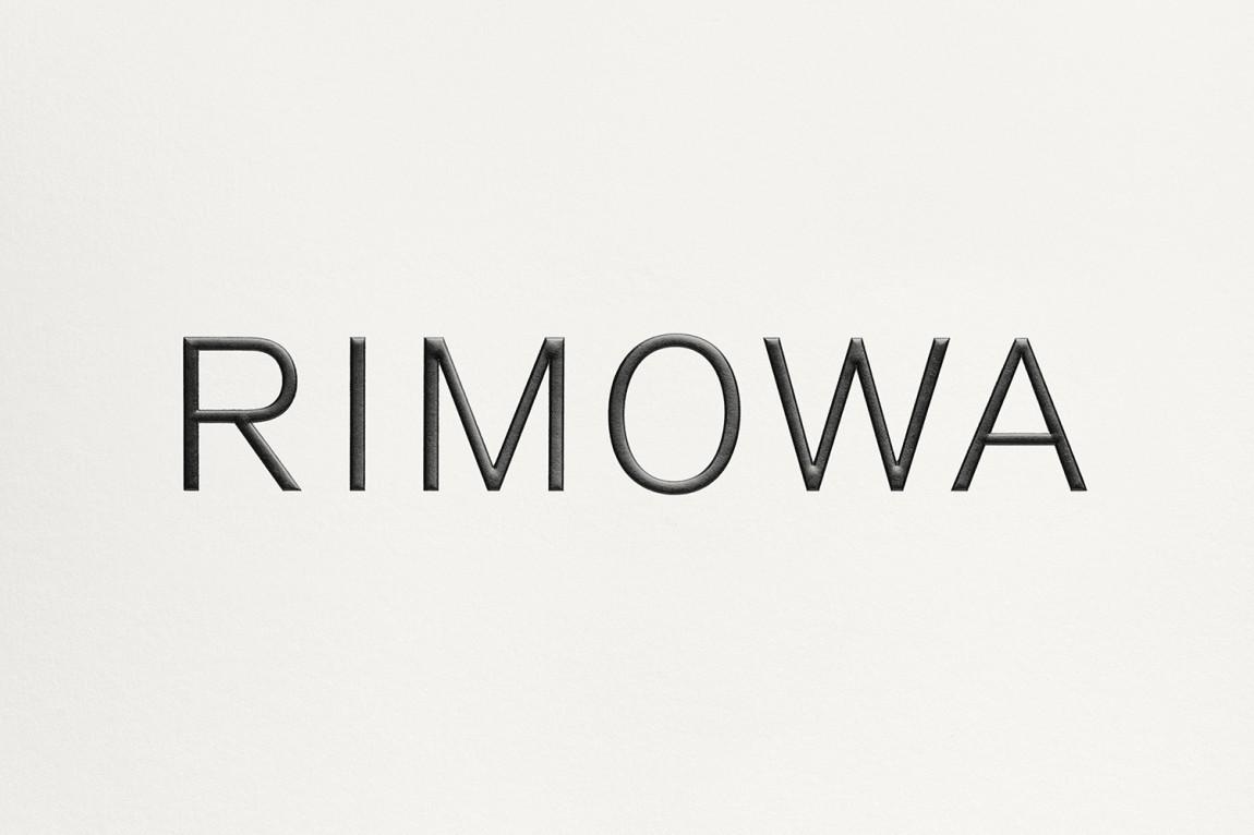 Rimowa豪华箱包国际品牌VI设计,logo设计